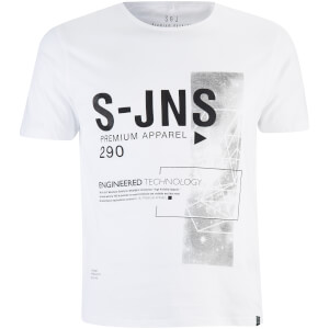 Smith & Jones Men's Langchor T-Shirt - White