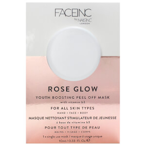 Máscara Peel-off Rose Glow FACEINC by nails inc. 10 ml