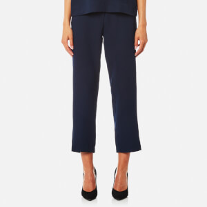 Samsoe & Samsoe Women's Hoyas Cropped Trousers - Dark Sapphire