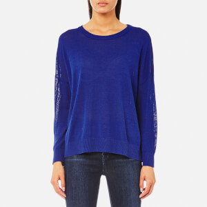 Samsoe & Samsoe Women's Kassy O Neck Jumper - Surf The Web