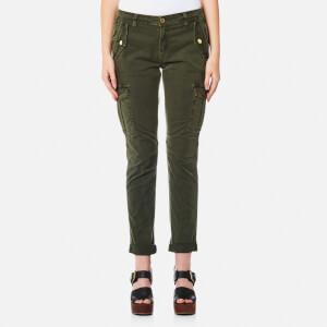 MICHAEL MICHAEL KORS Women's Dye Cargo Trousers - Ivy