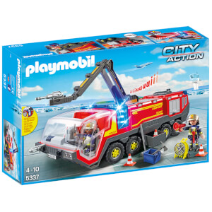 PLAYMOBIL City Action: Camión Bomberos Aeropuerto (5337)