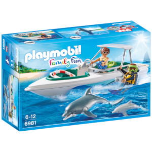 Playmobil Family Fun Diving Trip with Speedboat (6981)