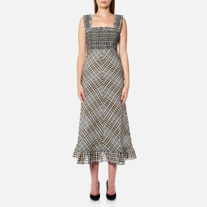 Ganni Women's Charron Dress - Cuban Sand