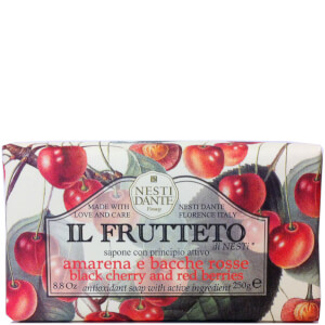 Nesti Dante Il Frutteto Black Cherry & Red Berries Soap 250 g