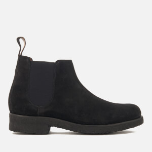 Grenson Men's Hayden Suede Chelsea Boots - Black