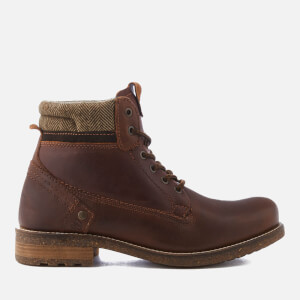 Wrangler Men's Hill Tweed Lace Up Boots - Camel