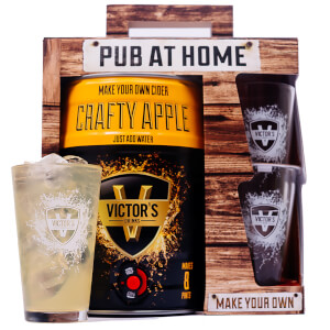 Victor's Drinks Pub At Home Crafty Apple