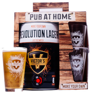 Victor's Drinks Pub At Home Revolution Lager