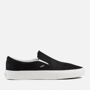 Vans Men's Classic Snake Slip-On Trainers - Black/Blanc