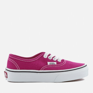 Vans Kids' Authentic Trainers - Very Berry/True White