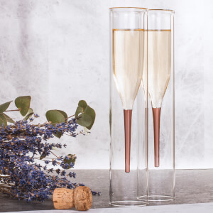 Soiree Inside Out Champagne Flutes