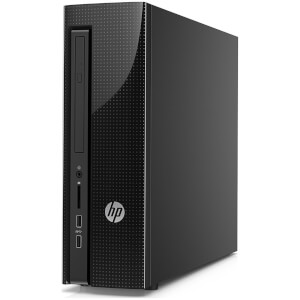 HP 411-A000NA Desktop (Intel N3050, 4GB, 1TB, 2.4GHz, Windows 10) - Manufacturer Refurbished
