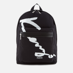 KENZO Men's Essentials Signature Rucksack - Black