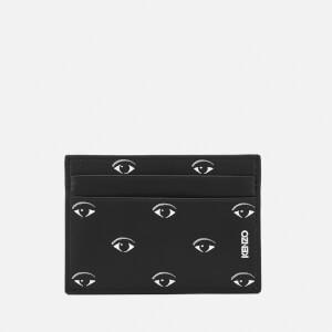KENZO Men's Icon Card Holder - Black