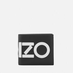 KENZO Men's Icons Bi Fold Wallet - Black