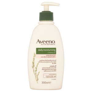 Aveeno Moisturising Creamy Oil - Sweet Almond 300ml