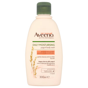 Gel de baño hidratante diario de Aveeno - Apricot and Honey 300 ml