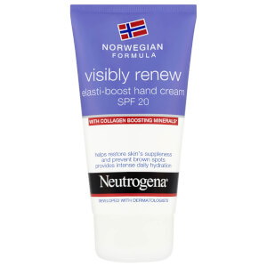 Norwegian Formula® Visibly Renew Elasti-Boost Hand Cream SPF 20 75ml