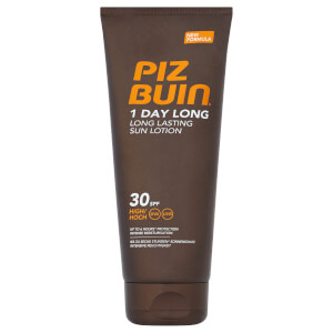 Piz Buin 1 Day Long Lasting Sun Lotion - High SPF 30 200 ml