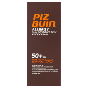 Piz Buin Allergy Sun Sensitive Skin Face Cream - Very High SPF 50+ 50 ml