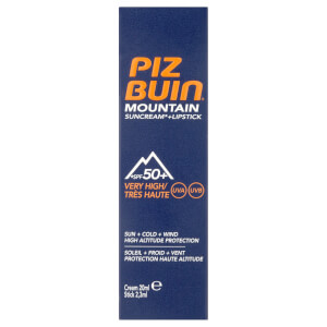 Piz Buin Mountain Sun Cream and Lipstick – Very High SPF 50 +