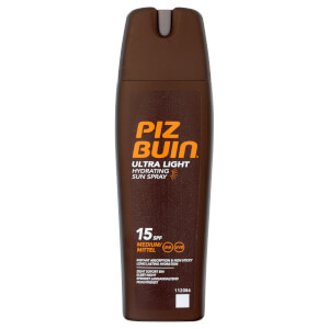 Piz Buin Ultra Light Hydrating Sun Spray - Medium SPF15 200ml