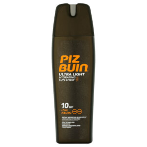 Spray Solar Hidratante Ultra Light da Piz Buin - FPS 10 Baixo 200 ml