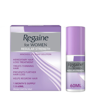 Regaine Women's Regular Strength Hair Loss and Hair Regrowth Solution 60ml