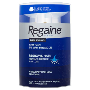 Regaine for Men Extra Strength Hair Regrowth Foam 3 x 60ml