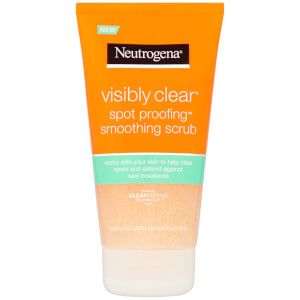 Neutrogena Visibly Clear Spot Proofing Smoothing Scrub