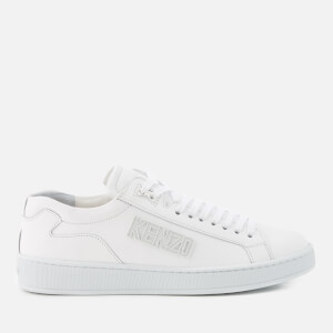 KENZO Women's Tennix Low Top Trainers - White