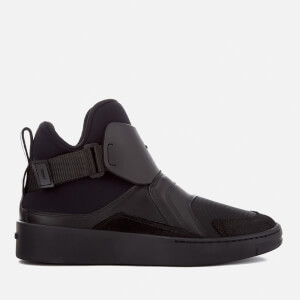 KENZO Women's K-Block Hi-Top Trainers - Black