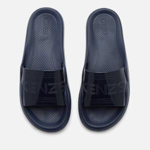 KENZO Women's Pool Side Slip On Sandals - Navy Blue