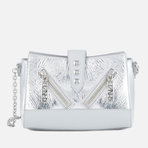KENZO Women's Kalifornia Chain Shoulder Bag - Metallic Crinkle Leather