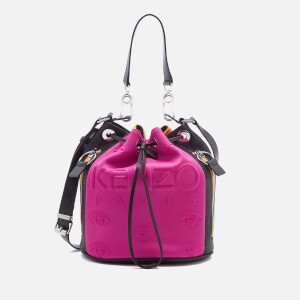 KENZO Women's Neoprene Bucket Bag - Deep Fuchsia