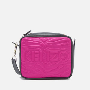 KENZO Women's Neoprene Camera Bag - Deep Fuchsia