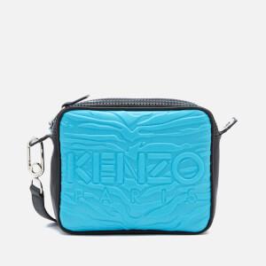 KENZO Women's Neoprene Camera Bag - Turquoise