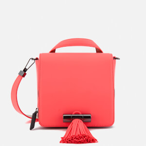 KENZO Women's Sailor Small Top Handle Cross Body Bag - Coral