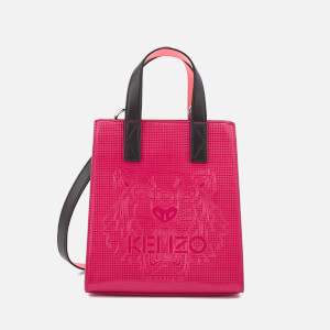 KENZO Women's Icons Horizontal Mini Tote Bag - Deep Fuchsia