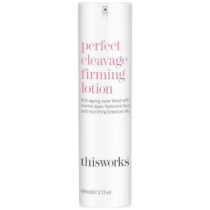 Loción reafirmante Perfect Cleavage de this works 60 ml