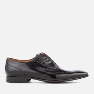 PS by Paul Smith Men's Adelaide Leather High Shine Oxford Shoes - Black