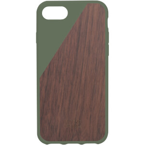 Native Union Clic Wooden iPhone 7 Case - Olive