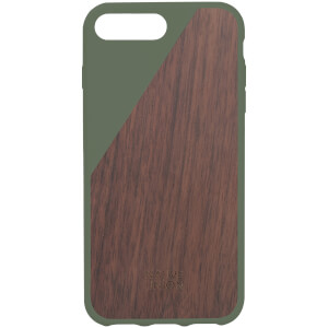 Native Union Clic Wooden iPhone 7 Plus Case - Olive