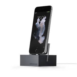 Native Union Dock For iPhone with 1.2m Cable - Slate