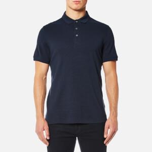 Michael Kors Men's Mini Jacquard Polo Shirt - Midnight