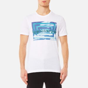 Michael Kors Men's Vortex M2 Graphic T-Shirt - White