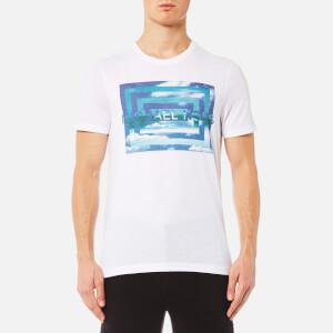 Michael Kors Men's Vortex M2 Graphic T-Shirt - White