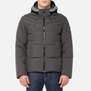 BOSS Green Men's Jamba Padded Jacket - Medium Grey