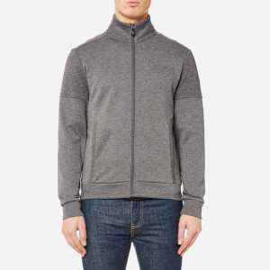 BOSS Green Men's Skaz Zipped Sweatshirt - Medium Grey